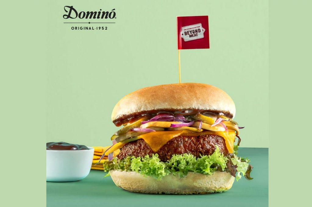 La hamburguesa del futuro llegó a Dominó
