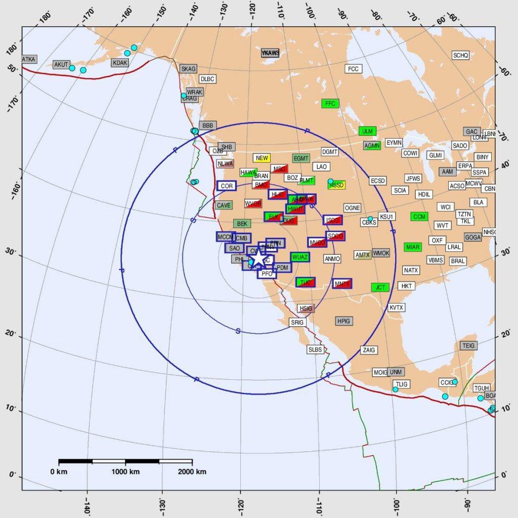 ACTUALIZADO /// EEUU: Otro terremoto 7,1° sacude  California