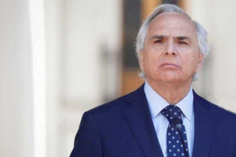 Ministro Chadwick dijo no coincidir atribución de responsabilidad política en caso Catrillanca