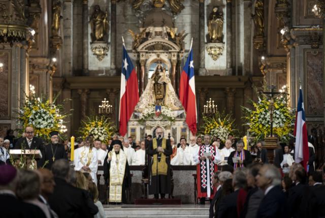 Monseñor Aós hizo llamado por el respeto a la vida y al diálogo en Te Deum 2019