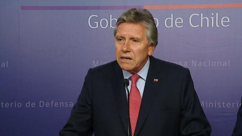 Ministro Espina explica que Presidente debe autorizar cualquier acción de las FF.AA. en apoyo a comunidades que sufren sequía