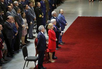 Con Piñera en primera fila, Te Deum Evangélico abordó las 40 Horas, el conflicto de la Araucanía y crisis interna
