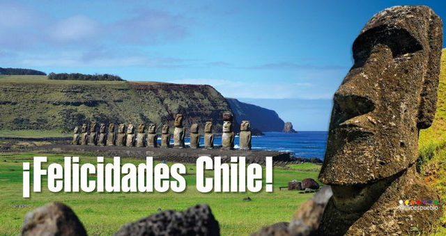 """Presidente Evo Morales escribe un amable """"Felicidades Chile"""" por la Fiestas Patrias"""