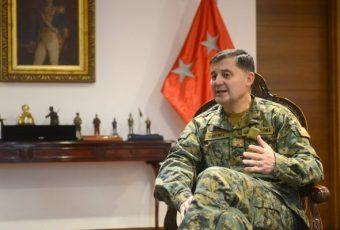 Comandante en Jefe del Ejército apuesta por medidas de probidad más agresivas para prevenir delitos