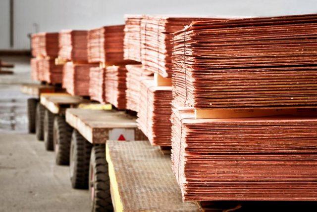 Índice de Inventarios de la Minería del Cobre muestra un incremento de 4,5% en julio