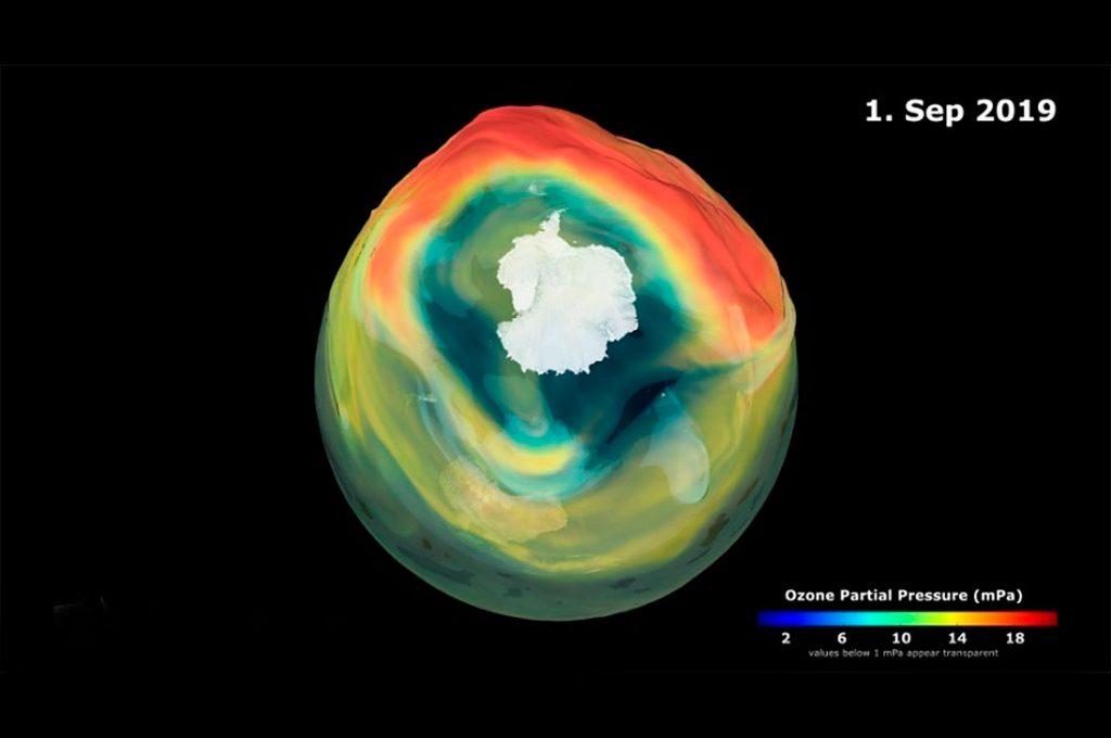 El agujero de la capa de ozono en la Antártida ha comenzado a formarse este año dos semanas antes de lo esperado