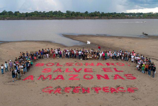 """Greenpeace en cumbre de países amazónicos:""""O actúan rápido o tendremos una Amazonía convertida en cenizas"""""""