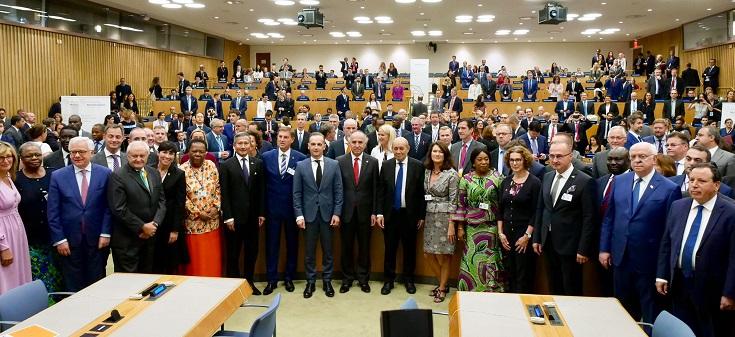 """Canciller Ribera participa en encuentro de la Alianza por el Multilateralismo:""""Construyendo redes y presentando resultados"""""""