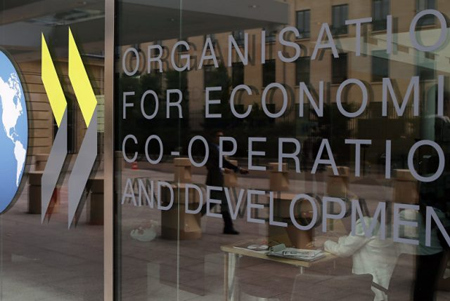 La OCDE vuelve a rebajar previsiones de crecimiento mundial para 2019 y 2020