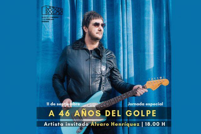 Álvaro Henríquez gratis en Museo de la Memoria