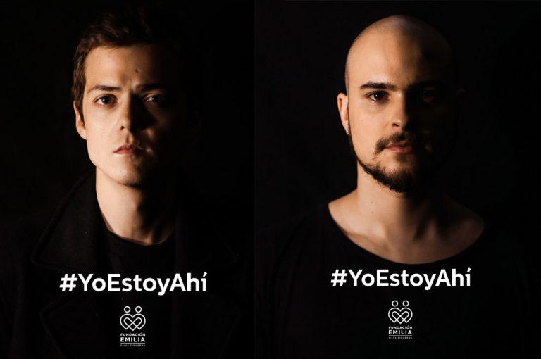 Fundación Emilia lanza nueva campaña #YoEstoyAhí con Augusto Schuster y Simón Pesutic