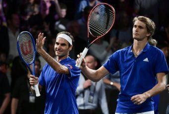 Laver Cup: Federer y Zverev permiten que Europa se adelante 3-1