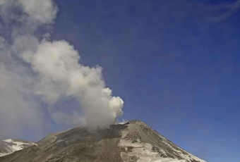 ONEMI mantiene Alerta Amarilla para comunas de Pinto, Coihueco y San Fabián por actividad del Nevados de Chillán