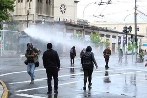 """Eurodiputados piden que la UE solidarice con el pueblo chileno y se termine la """"represión"""""""
