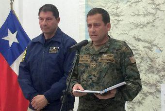 """General Iturriaga aclara: """"No corresponde especular sobre una frase que dije en la mañana. En mis palabras nunca hubo una doble intención"""""""