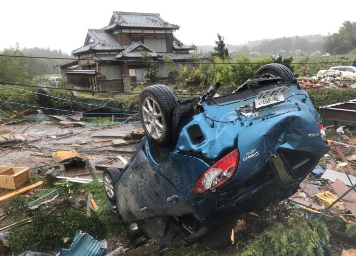 Tifón Hagibis azota Japón y deja más de 20 muertos e importantes inundaciones
