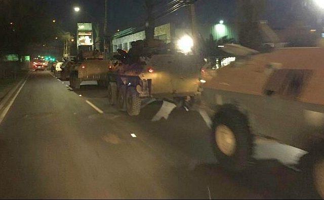 Gobierno decreta ESTADO DE EMERGENCIA  y se prepara el despliegue de unidades del Ejército