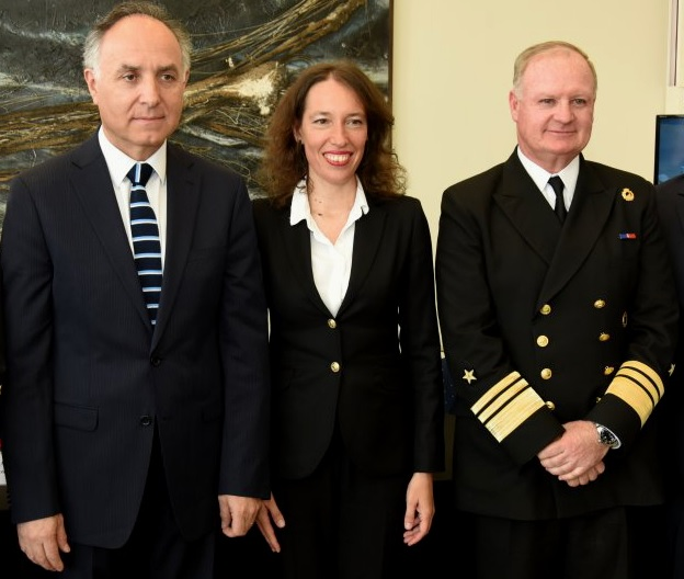 Cancillería oficializó candidatura de Directemar de la Armada a la Organización Marítima Internacional