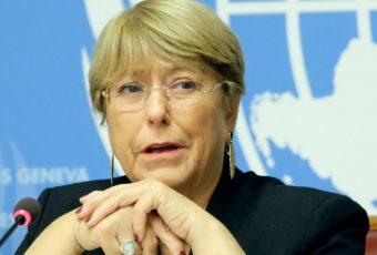 Bachelet preocupada por violencia en Chile tras disturbios y saqueos