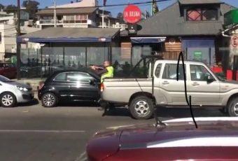 Supremacista blanco queda en prisión preventiva tras disparar a manifestante en Reñaca