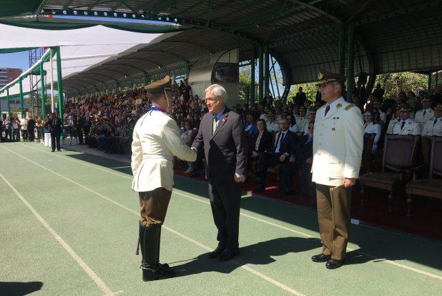 Presidente Piñera reitera pleno respaldo del gobierno a Carabineros en el marco de la legalidad y los DD.HH.