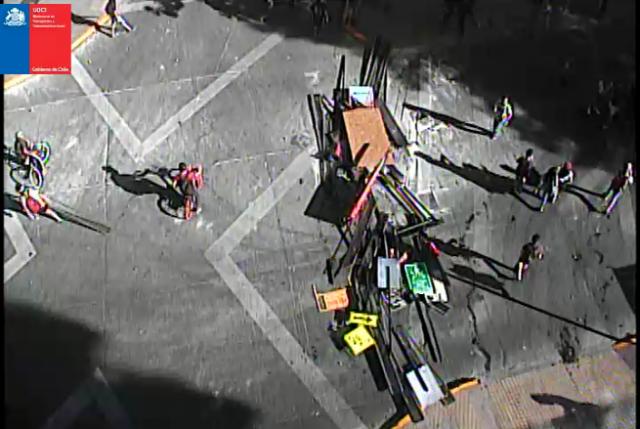 Tras violentas protestas en Providencia alcaldesa Matthei advierte: ¡¡¡Nada justifica este nivel de violencia!!!