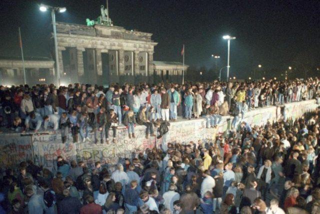 Emocionante concierto en la Puerta de Brandenburgo para celebrar los 30 años de la caída del Muro de Berlín