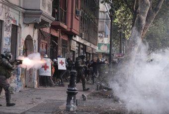 Informe de la U. de Chile: 20% de BALINES disparados en manifestaciones son de goma