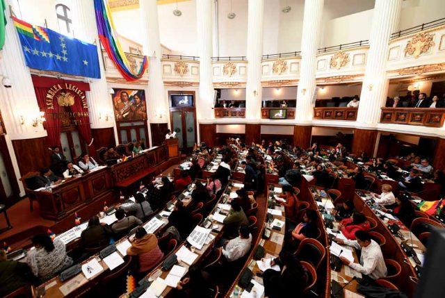 Cámara de Diputados de Bolivia aprueba la ley para nueva elección
