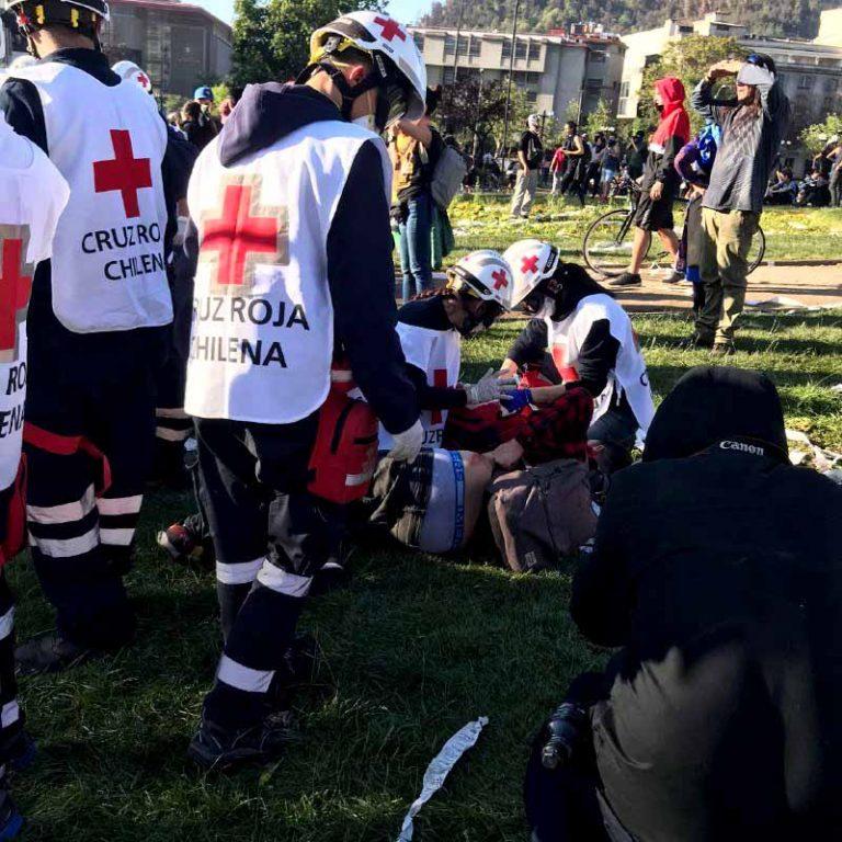 """Cruz Roja  denuncia """"Hemos seguido recibiendo heridos con perdigón"""" y plantea """"alguien está faltando a su palabra"""""""