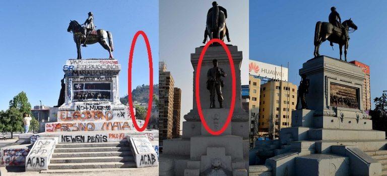 Consejo de Monumentos NO rinde la plaza (como otros) y dispone que monumentos a Baquedano y Soldado Desconocido permanezca en su lugar