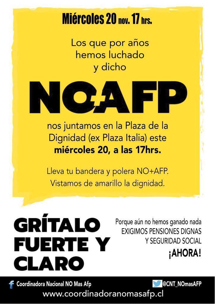 Descontento social NO PARA y se convocan nuevas manifestaciones para este miércoles