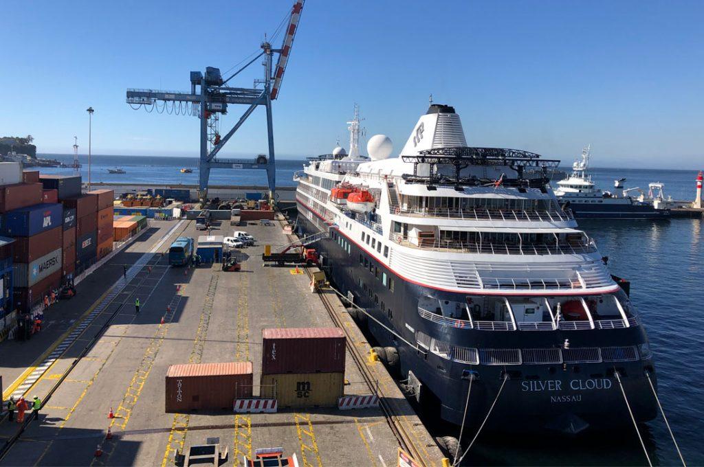 Terminal Pacífico Sur Valparaíso recibió dos cruceros esta semana
