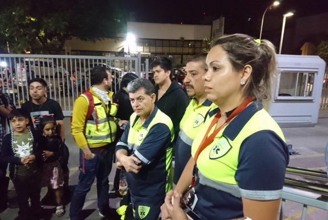 SAMU acusa agresión de Carabineros a sus funcionarios mientras atendían paciente en Plaza Italia