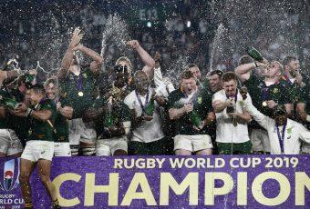 Mundial de rugby:  Sudáfrica vence a  Inglaterra y se queda por tercera vez con la copa