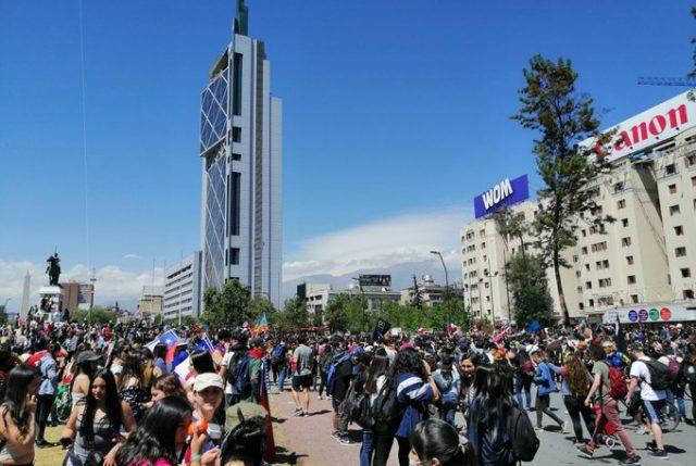 Positivo balance de manifestaciones: no hubo saqueos e incendios