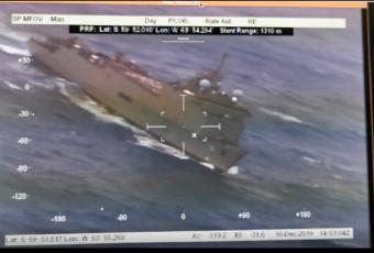 Buques de la Armada ya están en la zona de rebusca de avión FACh perdido ayer (VIDEOS)