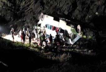ACTUALIZADO /// A 21 se eleva la cantidad de fallecidos en accidente en cuesta Paposo en Antofagasta