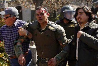"""General Rozas: """"Nos sorprende la violencia inusitada de estos desgraciados e infelices que nos atacan"""""""
