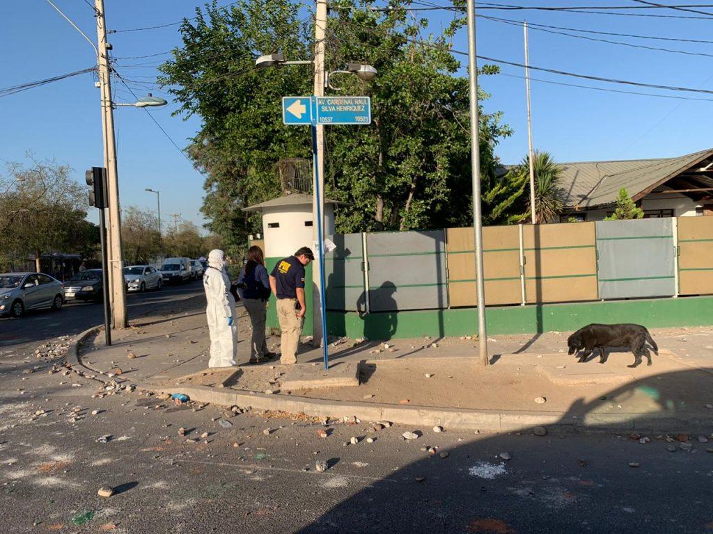 Balance de manifestaciones deja seis heridos a bala, dos de ellos Carabineros