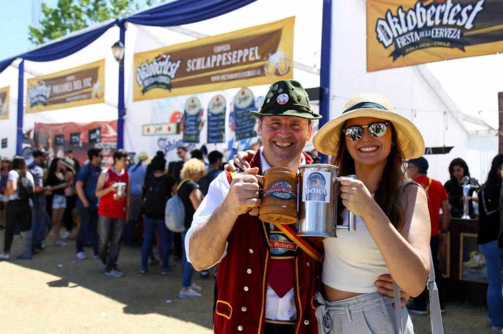 """Comienza la gran fiesta de la cerveza """"Oktoberfest"""" Chile 2020"""
