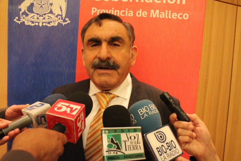 Gobierno nombra a Víctor Manoli como nuevo intendente de La Araucanía