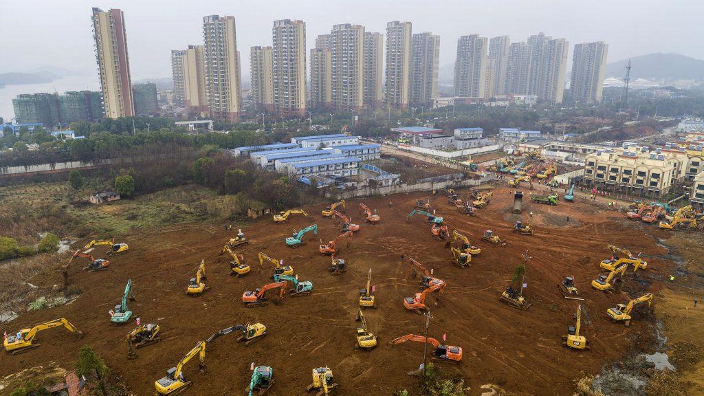 Solo en China: anuncian construcción en 10 días de hospital para pacientes de coronavirus