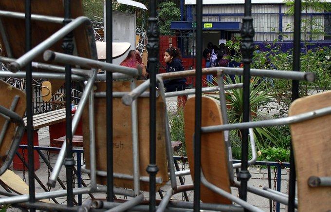 Dos colegios de Copiapó amanecen tomados en la víspera de la PSU