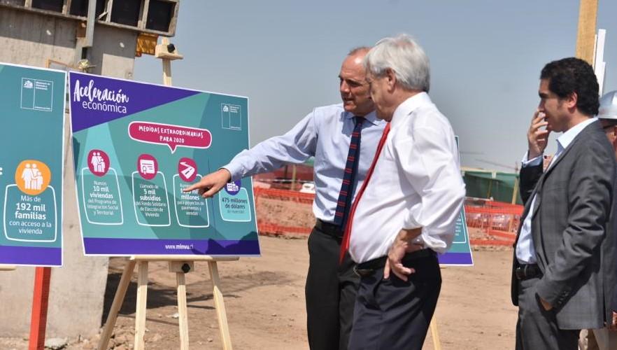 Gobierno anuncia US$475 millones adicionales para vivienda e infraestructura urbana