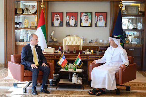 Canciller finaliza visita a Emiratos Árabes buscando ampliar contactos comerciales y fuentes de inversión