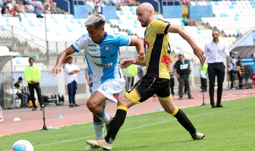 Antofagasta debuta con un triunfo como local venciendo a Coquimbo Unido