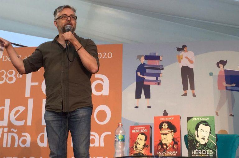 Jorge Baradit reflexionó sobre el estallido social en la 38a Feria del Libro de Viña del Mar
