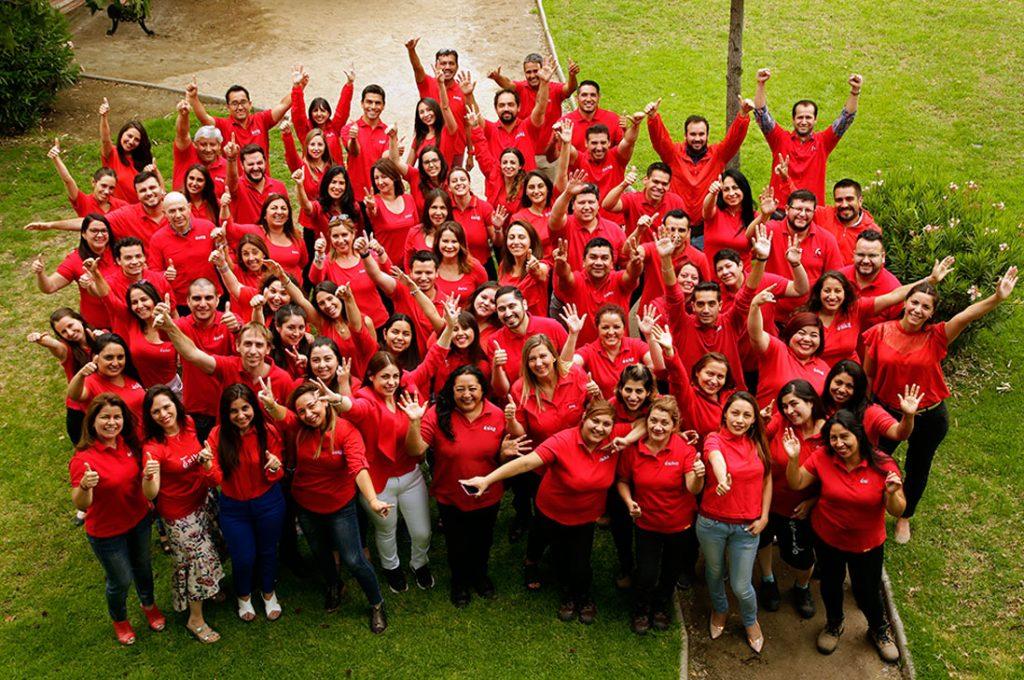 Esika es reconocida como una de las mejores empresas para trabajar en Chile.