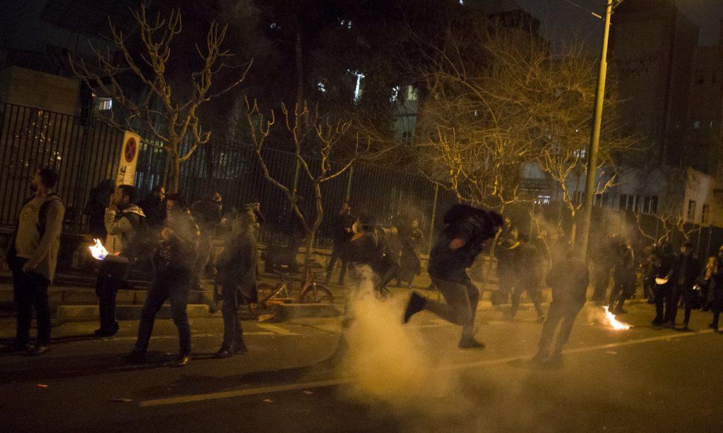 Irán: Aumentan protestas por derribo de avión civil